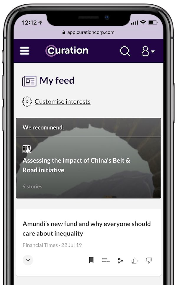 AI-driven feed gets smarter as you use it
