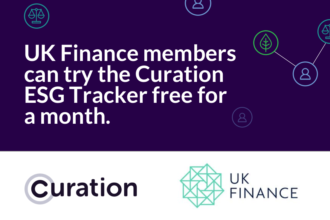 UK Finance partners with Curation Corp
